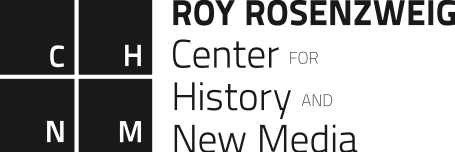 Logo for the Roy Rosenzweig Center for History and New Media